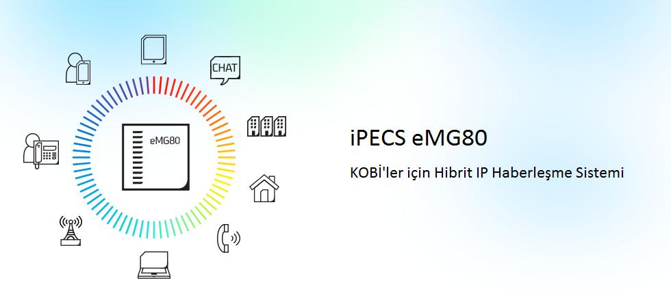 Ericsson Lg ipecs eMG80 ip Telefon Santrali