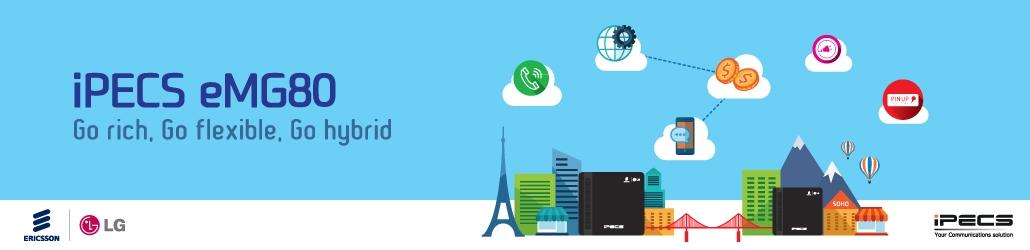 Ericsson Lg ipecs eMG80 ip Telefon Santrali,